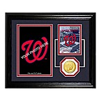 Washington Nationals Fan Memories Desktop Photo Mint Frame