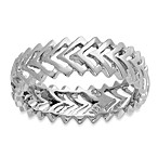 Badgley Mischka® The Romantics 14K White Gold Band