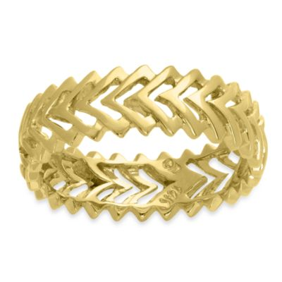 Badgley Mischka® The Romantics 14K Yellow Gold Band