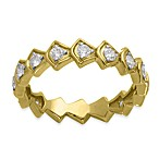 Badgley Mischka® The Romantics 14K Yellow Gold .5 cttw Diamond Band