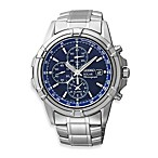 Seiko Men's Stainless Steel Solar Dress Sport Watch