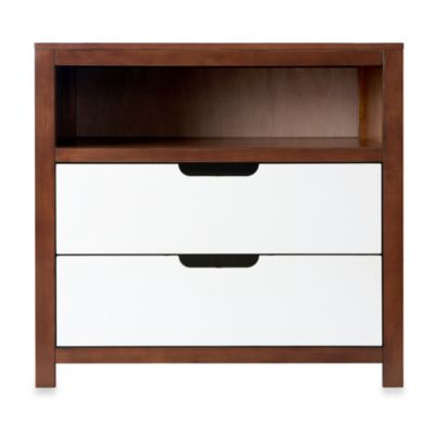Karla Dubois® OSLO Two-Tone Dresser in White/Coco
