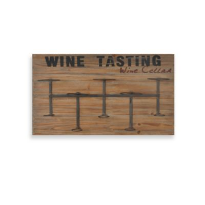 Wine Rack Plaque