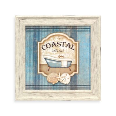 Coastal Retreat Bathroom Wall Art