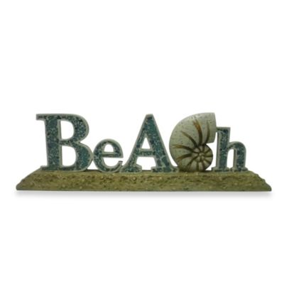 Beach Table Top Decor