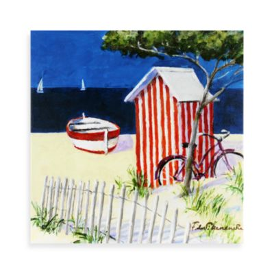 Fabrice de Villeneuve Studio Relaxing Spot Boats Wall Art