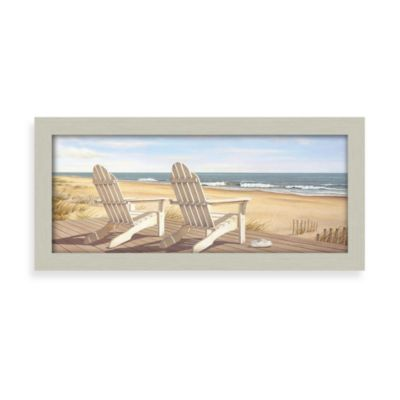 Hampton Beach Chair Wall Art