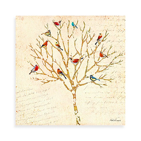 Bird Tree 1 Canvas Wall Art