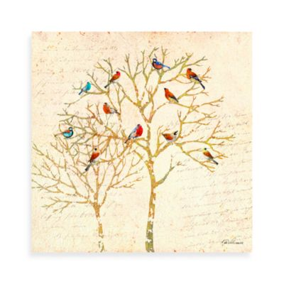 Birds Tree 2 Canvas Wall Art