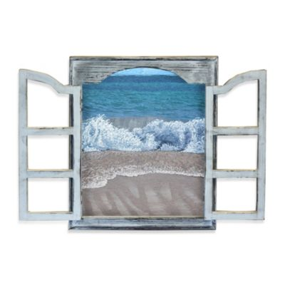 Beach Window Surf 16-Inch x 20-Inch Wall Art
