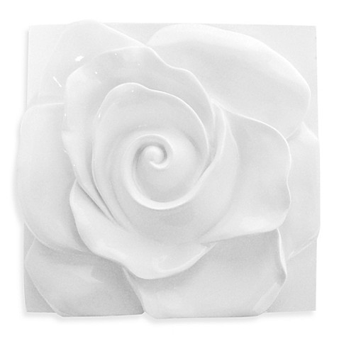 Soft Rose Glossed Wall Sculpture