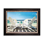 Deck Chairs Framed Wall Art