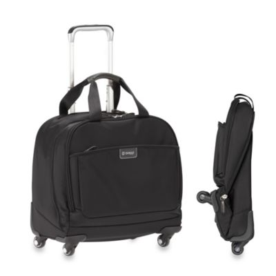 Biaggi Contempo 16-Inch Overnight Business Tote in Black