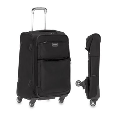 Biaggi Contempo 22-Inch Four Wheel Foldable Carry On in Black