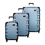 T-Tech by Tumi Cargo Rolling Suitcase- Blue