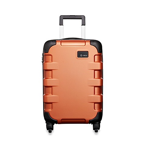 T-Tech by Tumi Cargo 22-Inch Rolling Suitcase in Terracotta