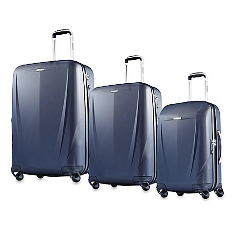 Samsonite® Silhouette Sphere Spinner Hardside Upright Collection in Blue