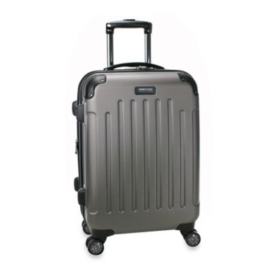 Kenneth Cole Reaction® Renegade 20-Inch Expandable 8-Wheel Upright Carry-On in Silver