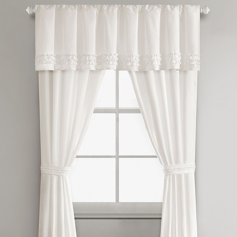 Sidney Window Valance in White