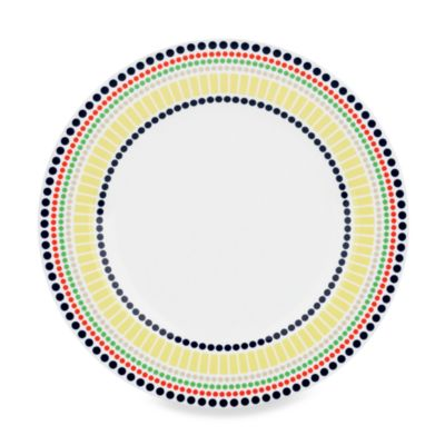 kate spade new york Hopscotch Porcelain 9.2-Inch Accent Plate