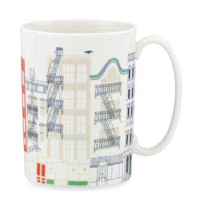kate spade new york Hopscotch Porcelain 12-Ounce City Mug