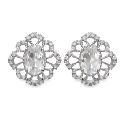Badgley Mischka® Fine Jewelry Petal Perfect Earrings