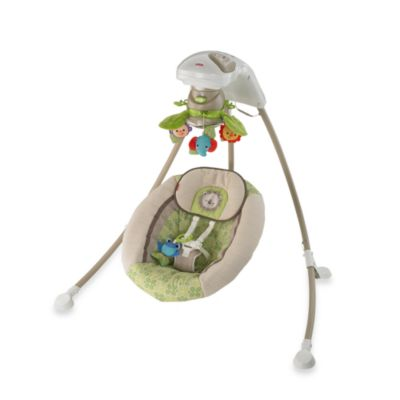 Fisher-Price® Rain Forest Friends Deluxe Cradle N' Swing - from Fisher Price