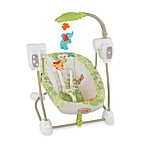 Fisher-Price® Rain Forest Friends SpaceSaver Swing & Seat