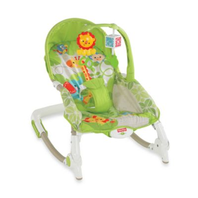 Fisher-Price® Rain Forest Friends Newborn-to-Toddler Rocker - from Fisher Price