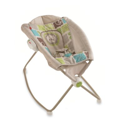 Activity > Fisher-Price® Newborn Rock 'n Play Sleeper in Rain forest Friends