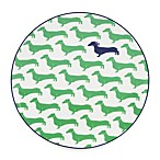 Kate Spade New York Wickford Dachshund Accent Plate