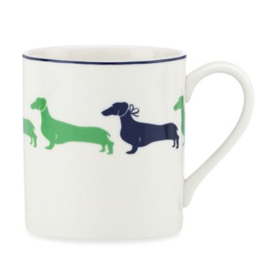 Kate Spade New York Wickford Dachshund Accent Mug