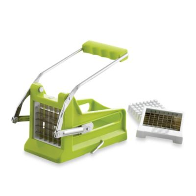 Super Slice Deluxe French Fry Cutter with Suction Base