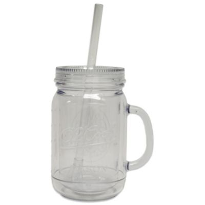 Insulated 20-Ounce Mason Jar Beverage Cup