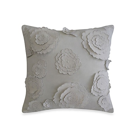 Laundry by Shelli Segal® Ava 3D Flower Square Toss Pillow