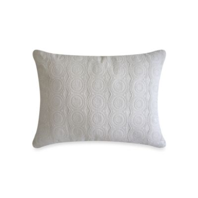 Laundry by Shelli Segal® Ava Appliquéd Oblong Toss Pillow