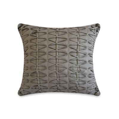 Laundry by Shelli Segal® Zoe Pleated Square Toss Pillow