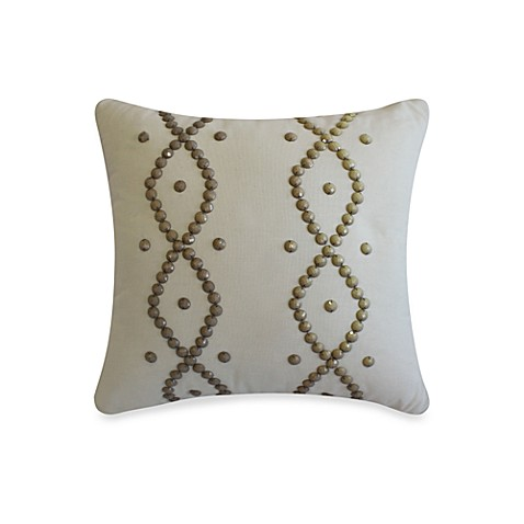 Laundry by Shelli Segal® Zoe Beaded Square Toss Pillow