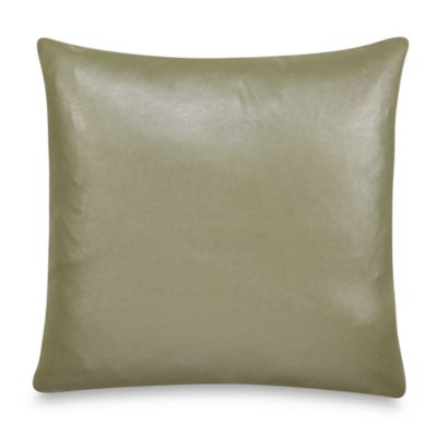 Nicole Miller® Lexington Faux-Leather Square Toss Pillow