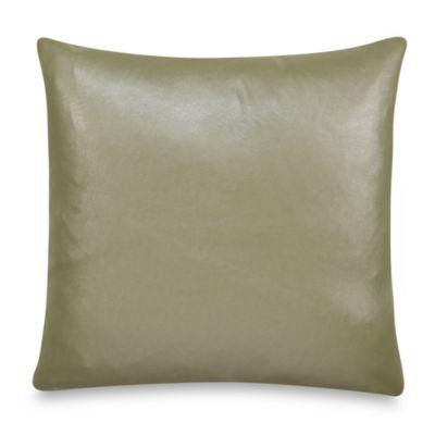 Nicole Miller® Lexington Faux-Leather Square Toss Pillow