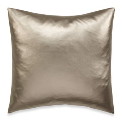 Nicole Miller® Satin Stripe Satin Square Toss Pillow