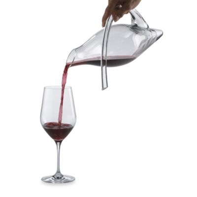Clear Duck Decanter