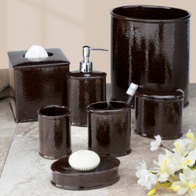 Crackle Bath Toothbrush Holder