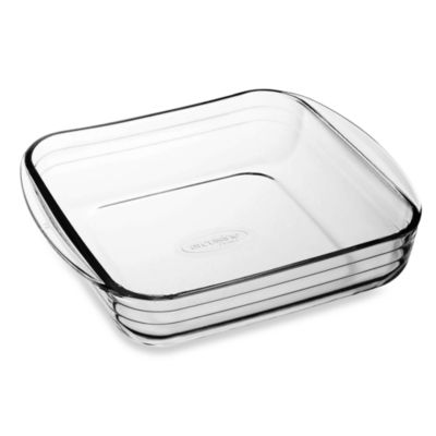 Arcuisine 8 -Inch Square Glass Roaster