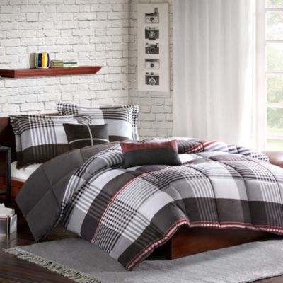 Cozy Soft® Blake Reversible 4-Piece Twin/Twin XL Comforter Set in Multi