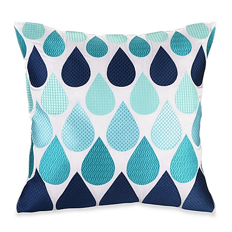 Trina Turk® Super Paradise Droplets 20-Inch Square Toss Pillow