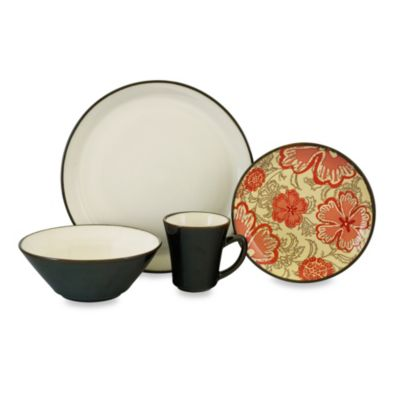 Sango Passion 16-Piece Dinnerware Set