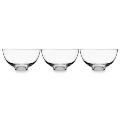 Luigi Bormioli Crescendo 3-Piece Bowl Set