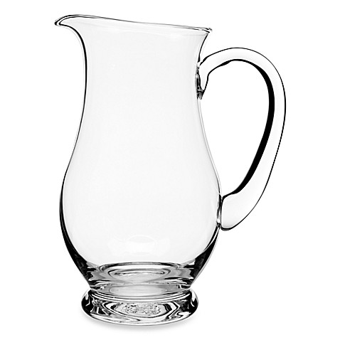 Luigi Bormioli Crescendo Footed 2.25-Liter Pitcher