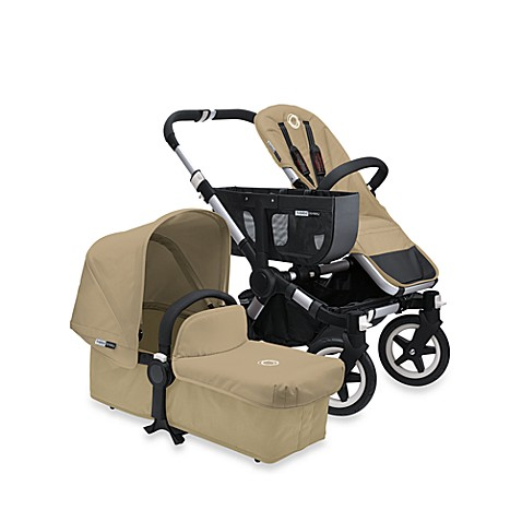 Bugaboo Donkey Duo Extension Set in Sand